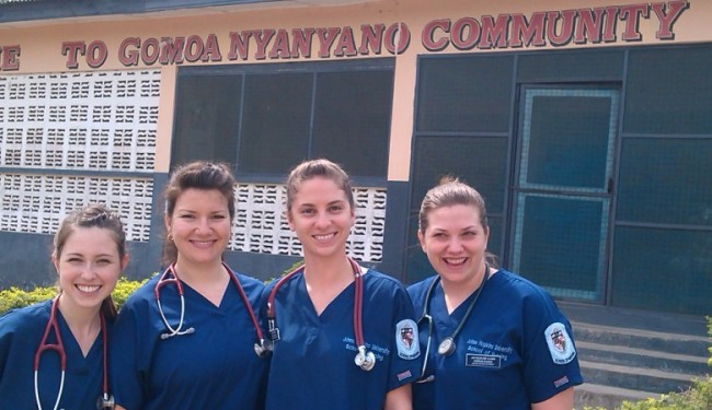 Improving community health through Medical volunteering/internships…