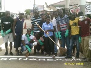 A great team of volunteers