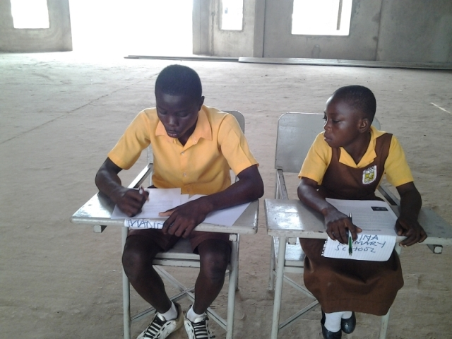 Madina Primary School Participants